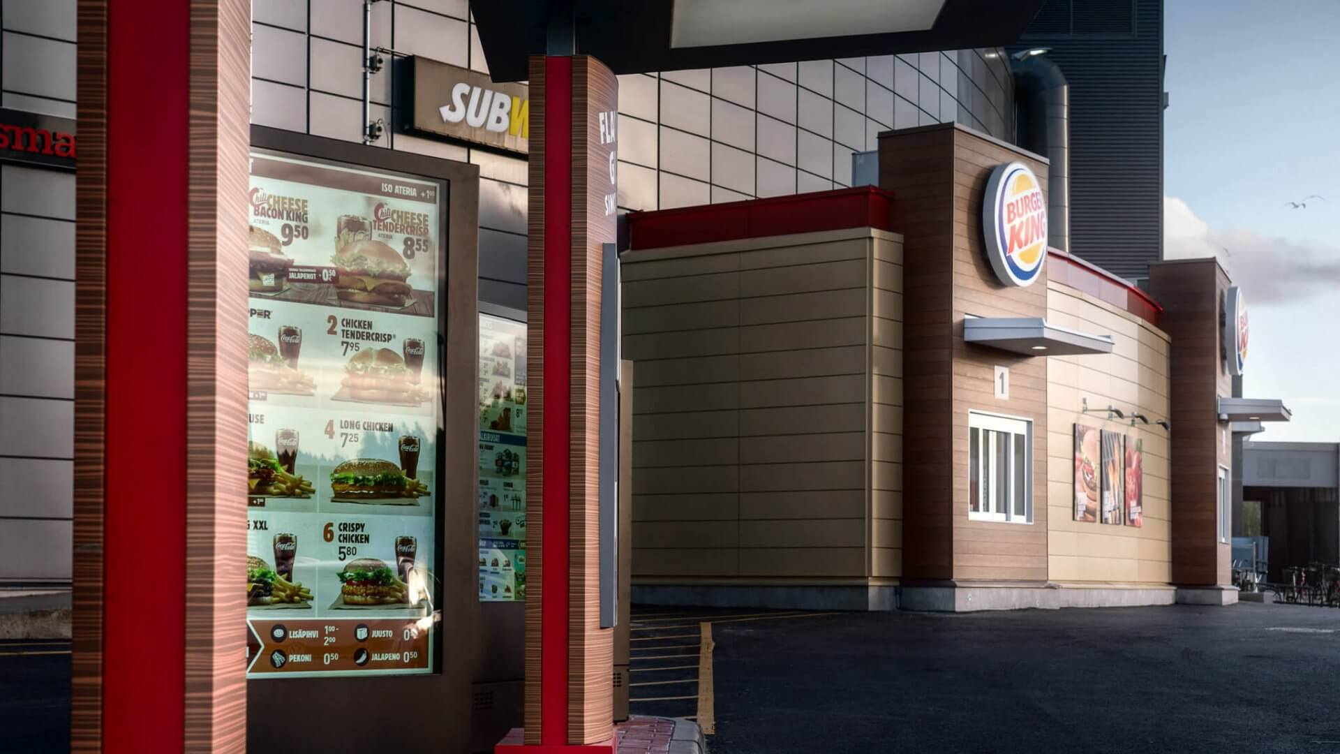 Burger King, Veska
