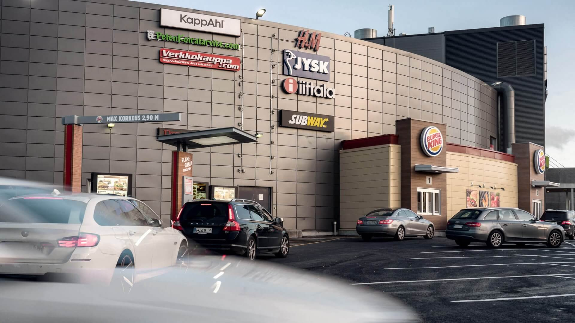 Burger King, Veska 3