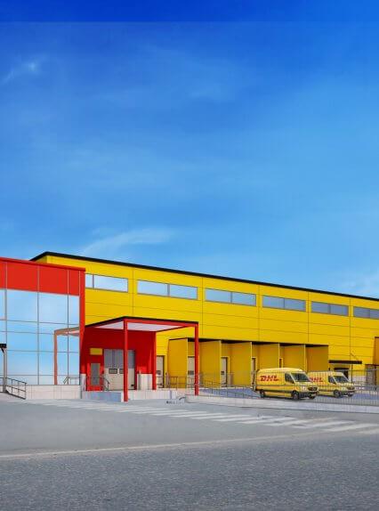 DHL:n jakelu- sekä logistiikkakeskus sekä toimistotilat Pirkkalaan