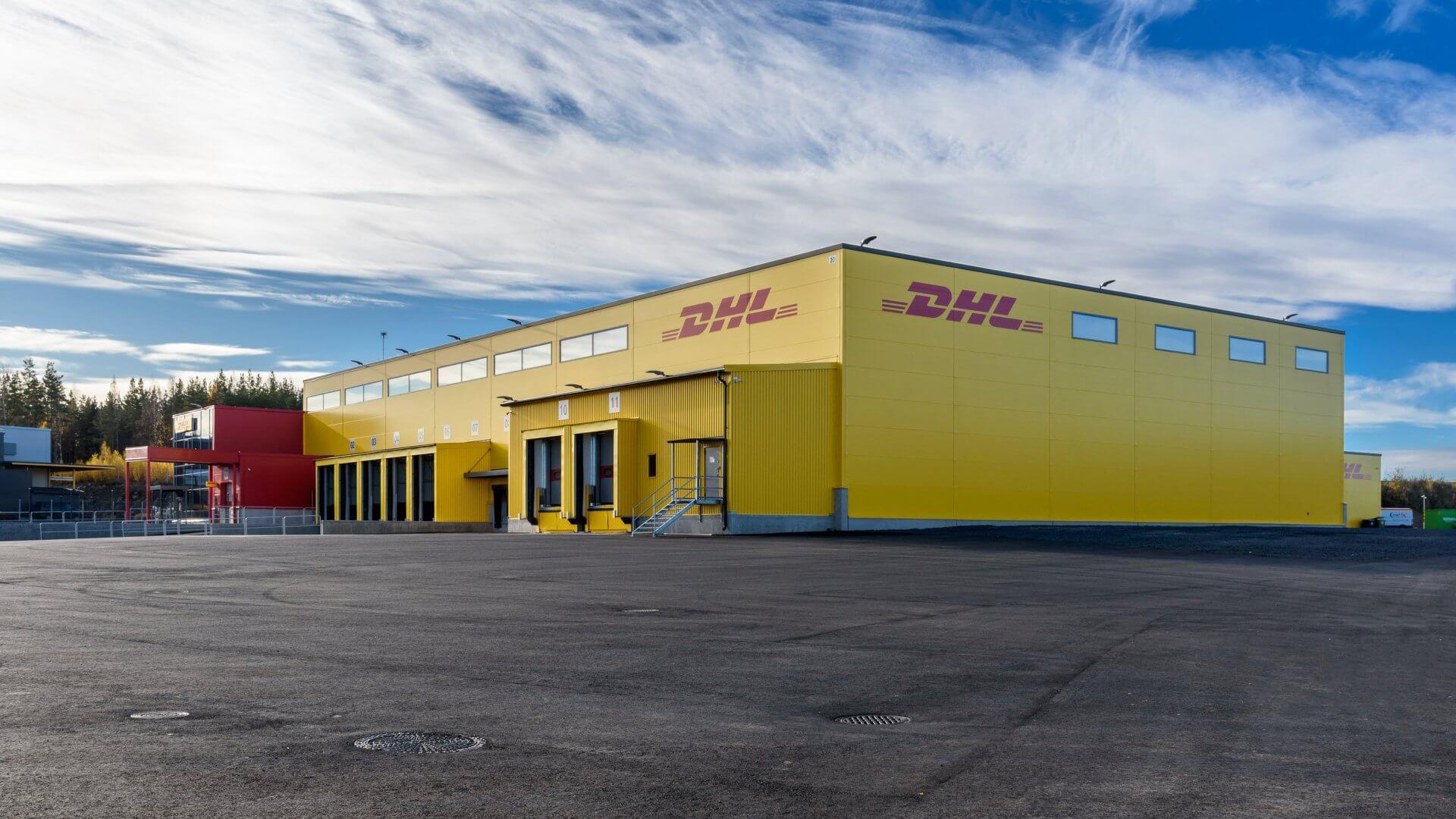 DHL:n jakelu- sekä logistiikkakeskus sekä toimistotilat Pirkkalaan 5