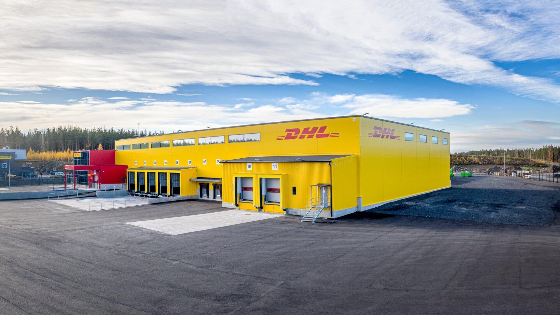 DHL:n jakelu- sekä logistiikkakeskus sekä toimistotilat Pirkkalaan 6