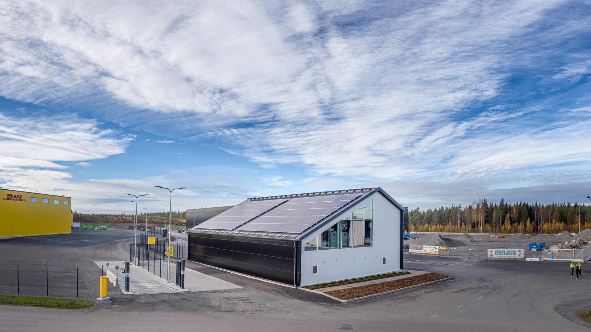Energiantuottolaitos, Linnakallio, Pirkkala