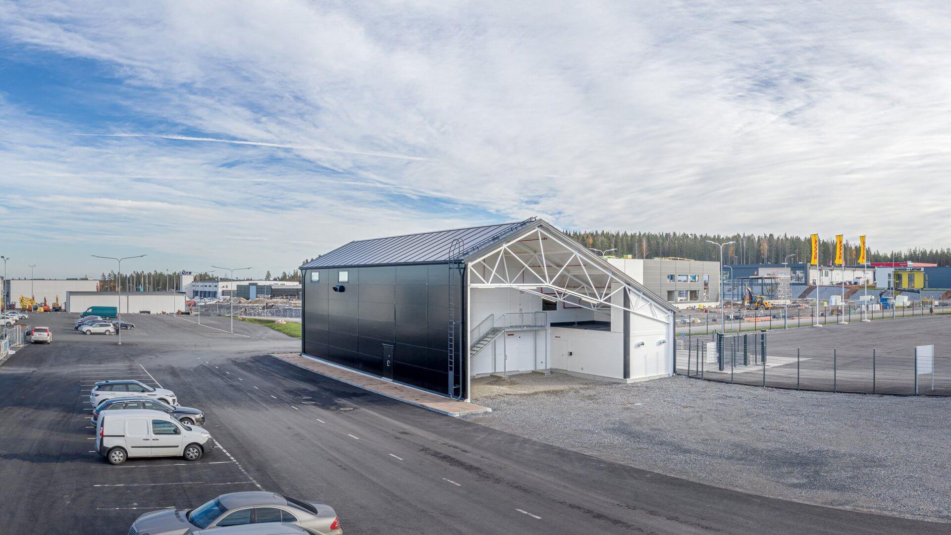 Energiantuottolaitos, Linnakallio, Pirkkala 2