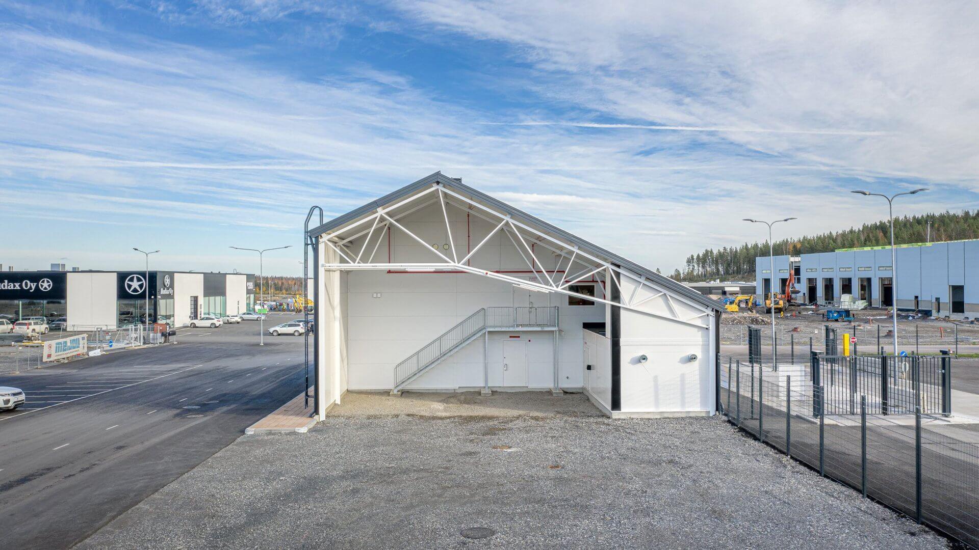 Energiantuottolaitos, Linnakallio, Pirkkala 3