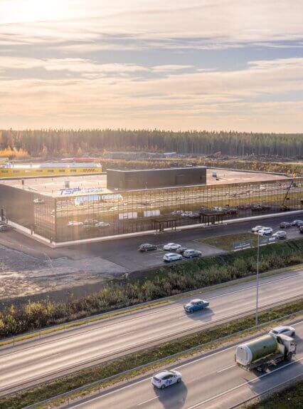 Linnakallio Magnum | Autokeskuksentie 16 | Pirkkala