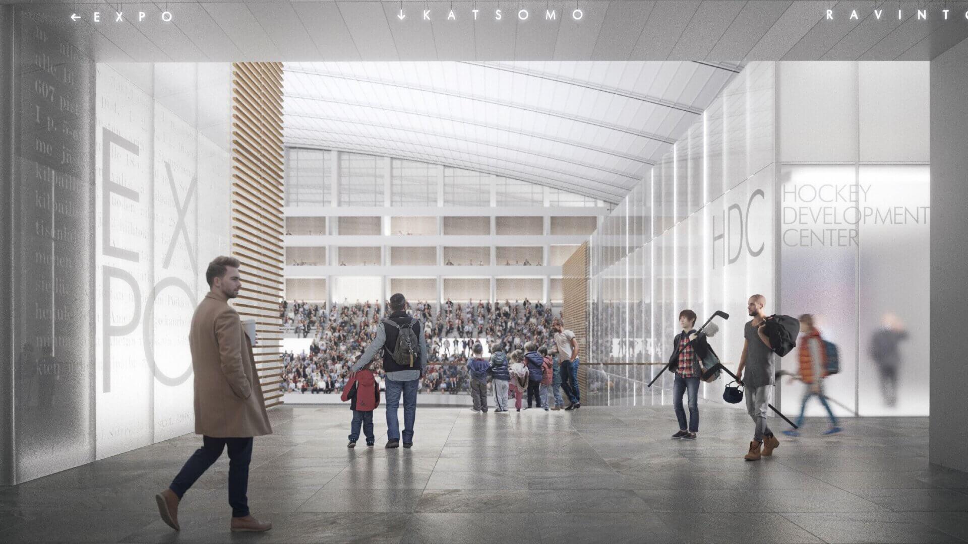 """Meijou osallistui Tampereen kaupungin järjestämään Hakametsän suunnittelukilpailuun, tuloksena palkintosijoille yltänyt """"Hakametsä Sport Campus -konsepti"""" 4"""