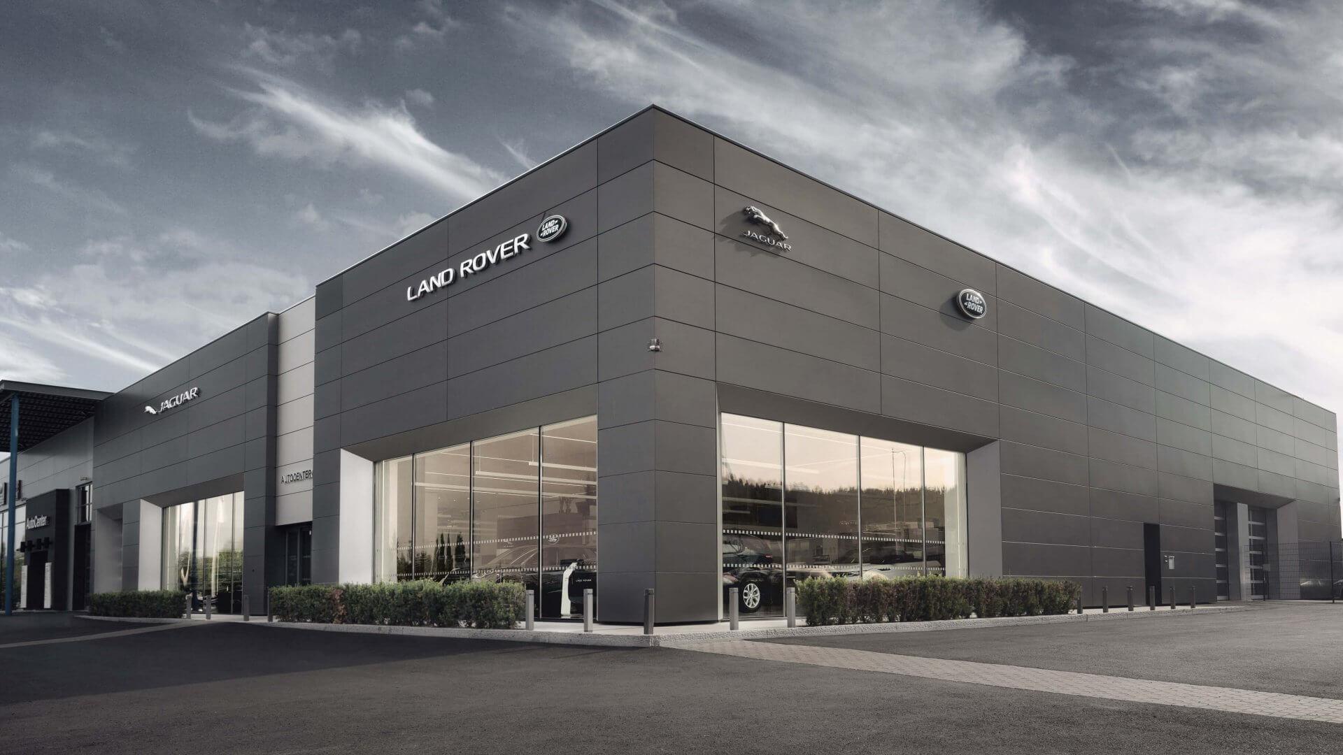 Jaguar / Land Rover konseptimyymälä