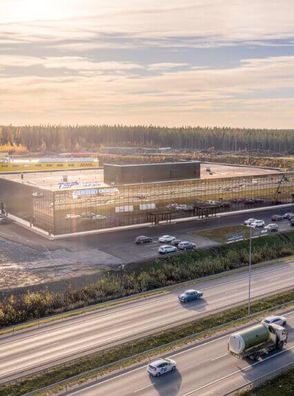 Linnakallio Magnum, toimisto- ja tuotantotiloja useammalle yritykselle.