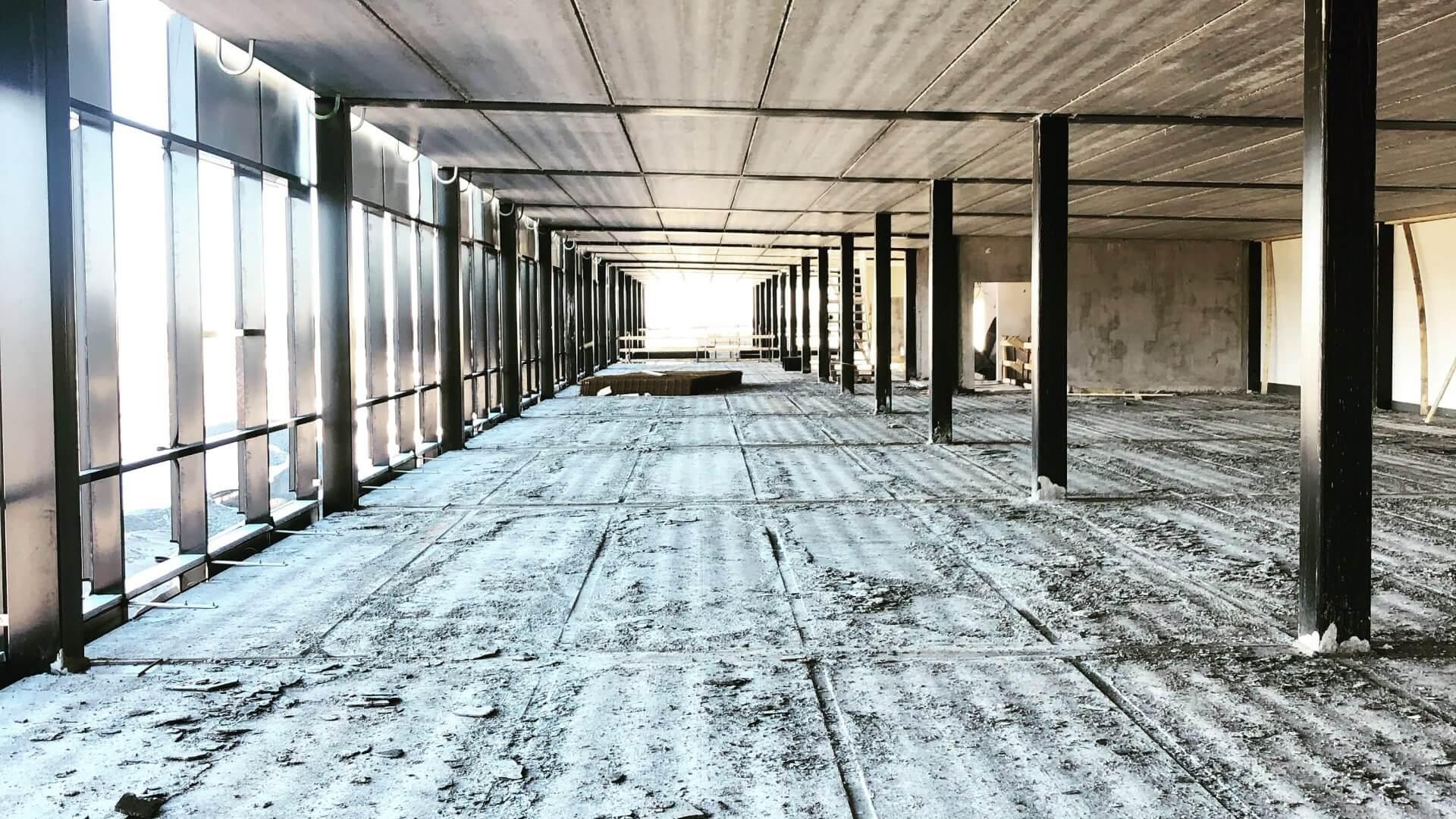 Linnakallio rakennus C, toimisto- ja tuotantotiloja useammalle yritykselle.
