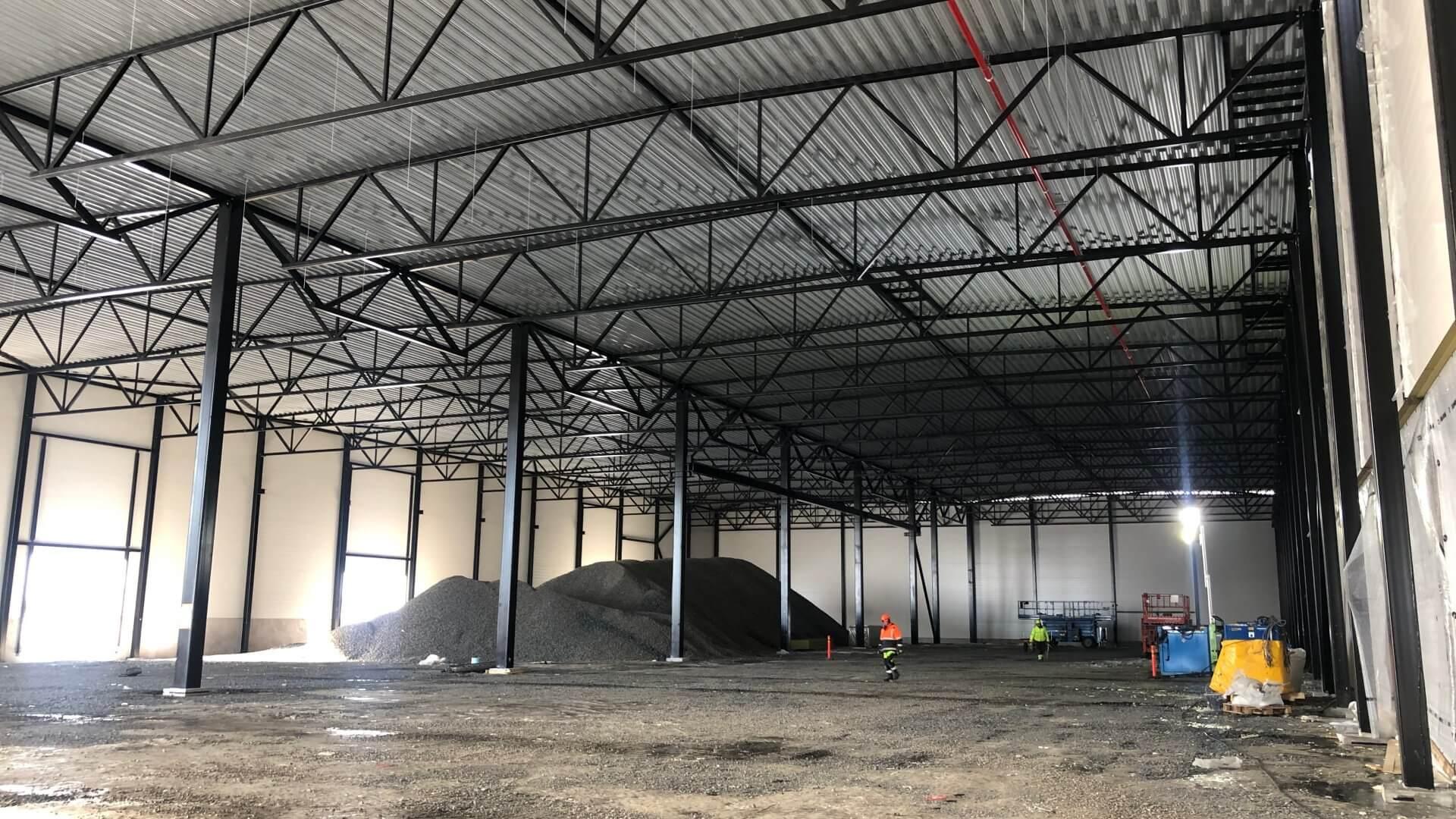 Linnakallio rakennus C, toimisto- ja tuotantotiloja useammalle yritykselle. 2