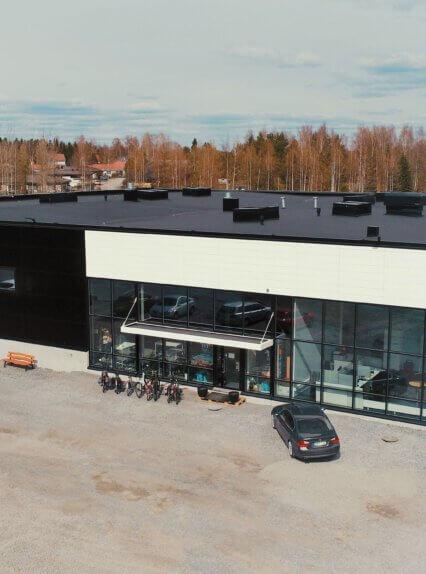 Meijou rakensi TITRY:lle uudet toimitilat Tampereen Lielahteen