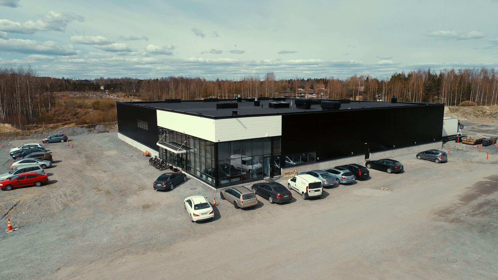 Meijou rakensi Titry Ry:lle uudet toimitilat Tampereen Lielahteen 9