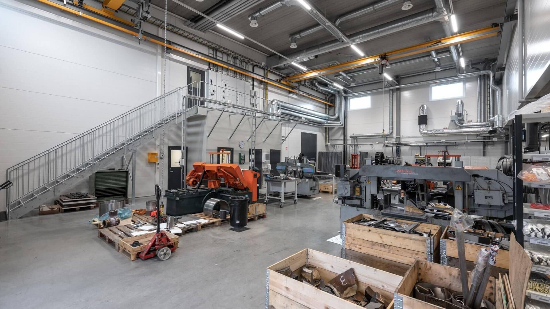 Metlabin uudet tuotanto- ja toimitilat Nuutisarankadulle Sarankulmaan 10