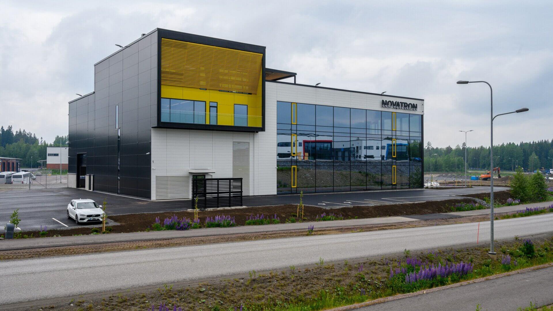 Novatronin uudet toimisto- ja tuotantotilat 1