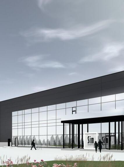 SIM Finland Oy:n uudet tuotanto-, varasto- ja toimistotilat