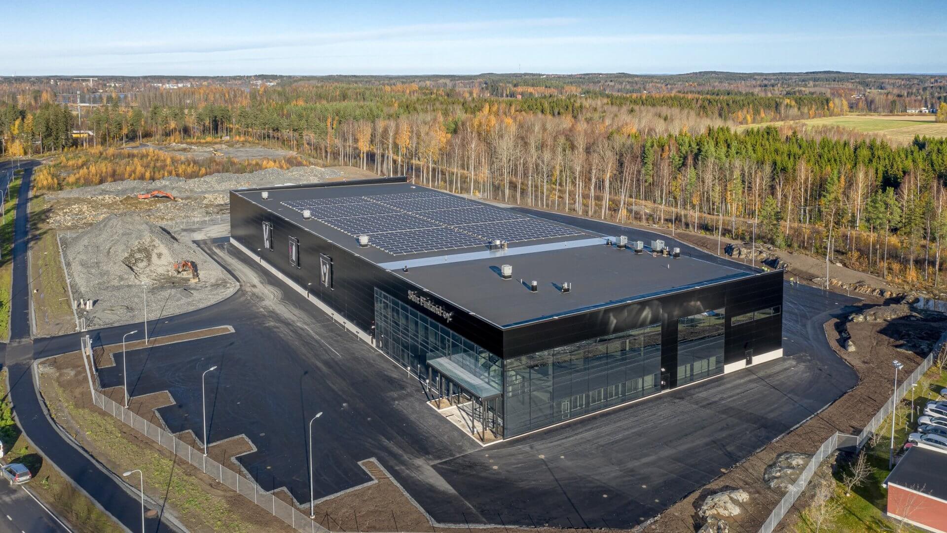 SIM Finland Oy:n uudet tuotanto-, varasto- ja toimistotilat 4