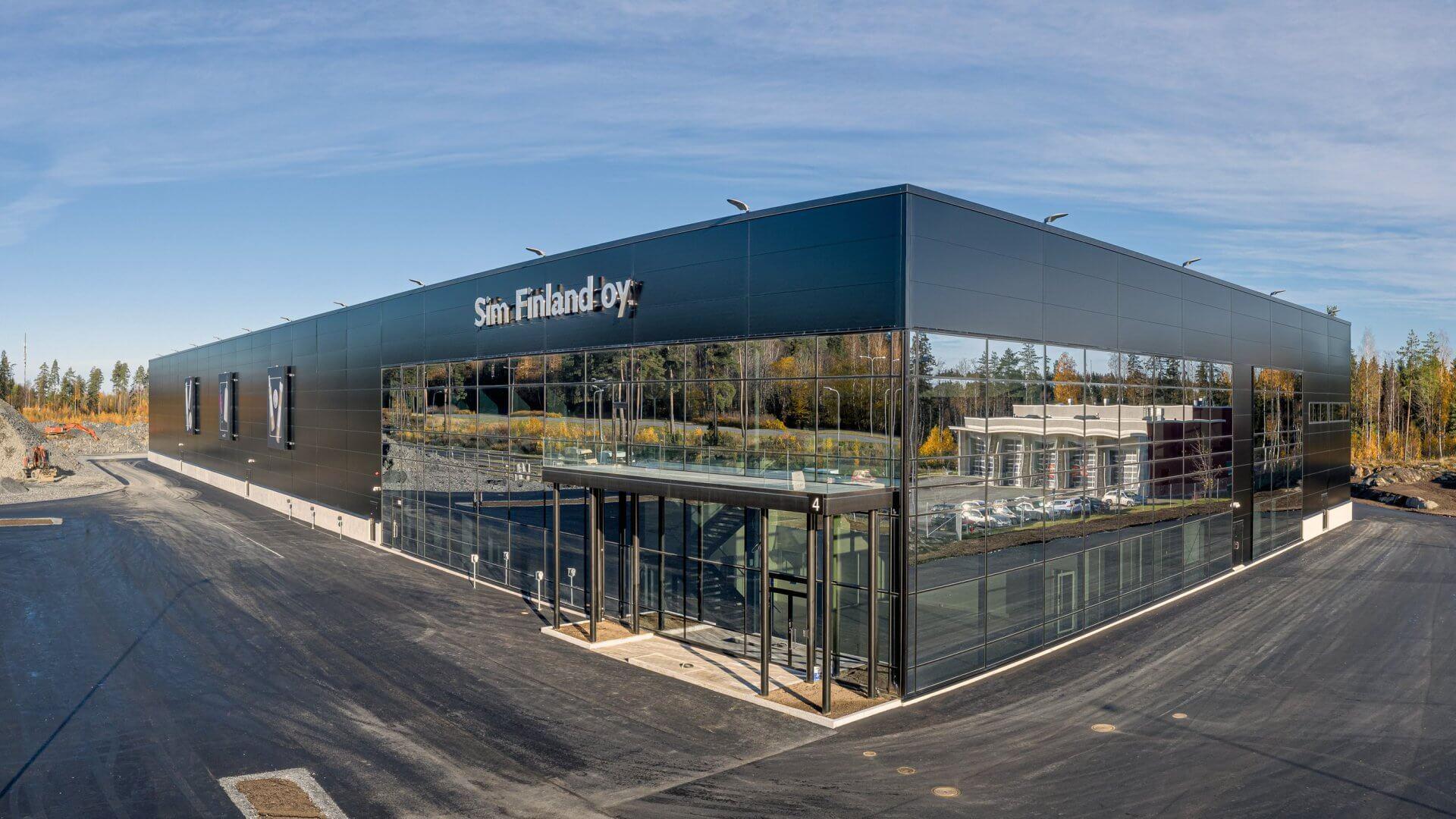 SIM Finland Oy:n uudet tuotanto-, varasto- ja toimistotilat 7