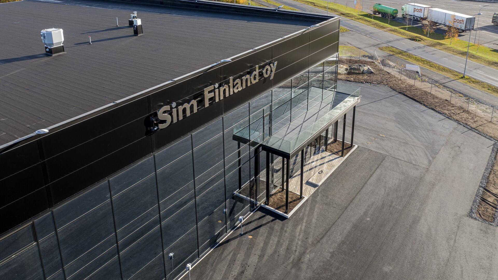 SIM Finland Oy:n uudet tuotanto-, varasto- ja toimistotilat 8