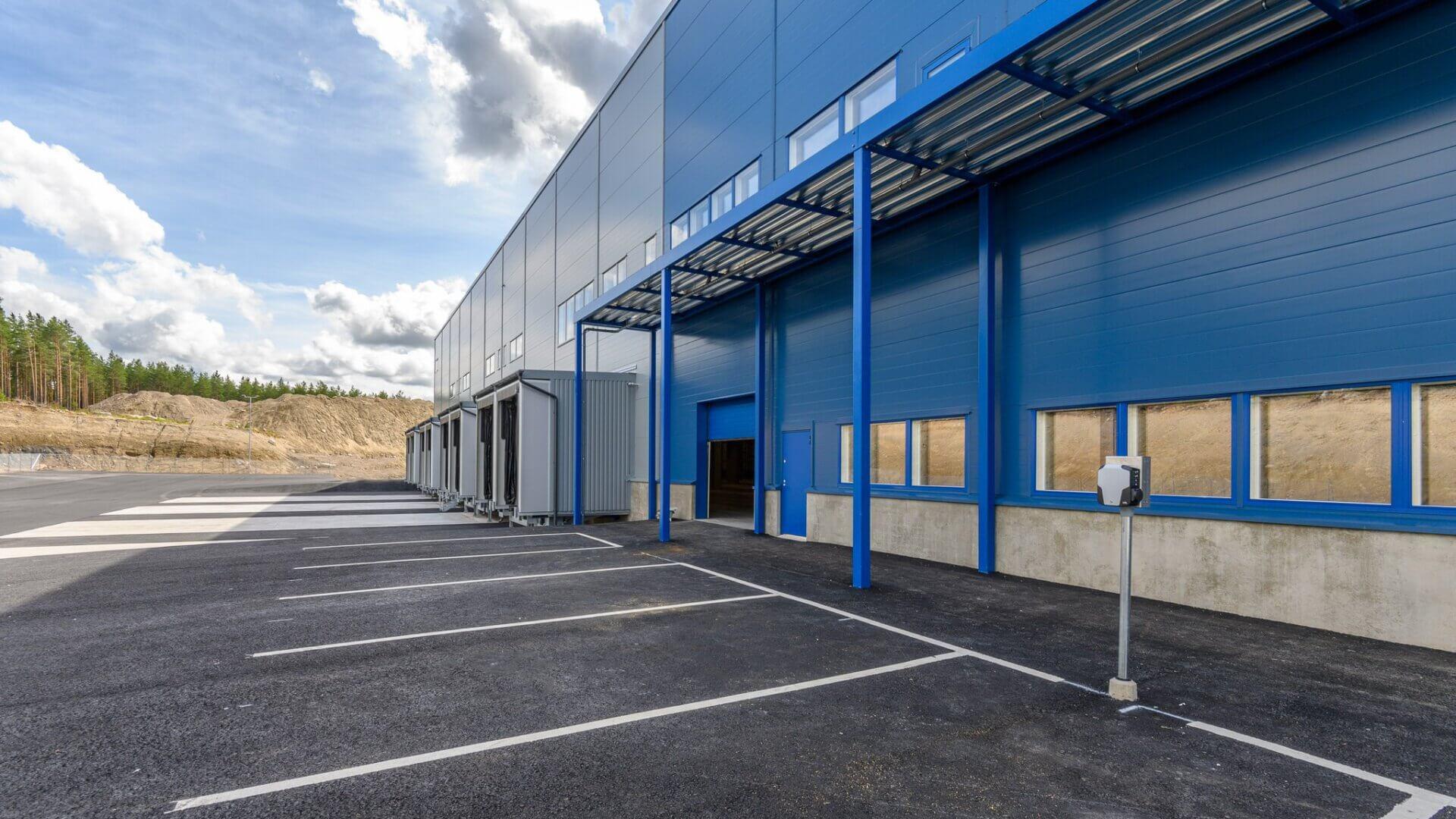 Tammer Brands valitsi Meijoun toteuttamaan logistiikkakeskuksen laajennuksen 4