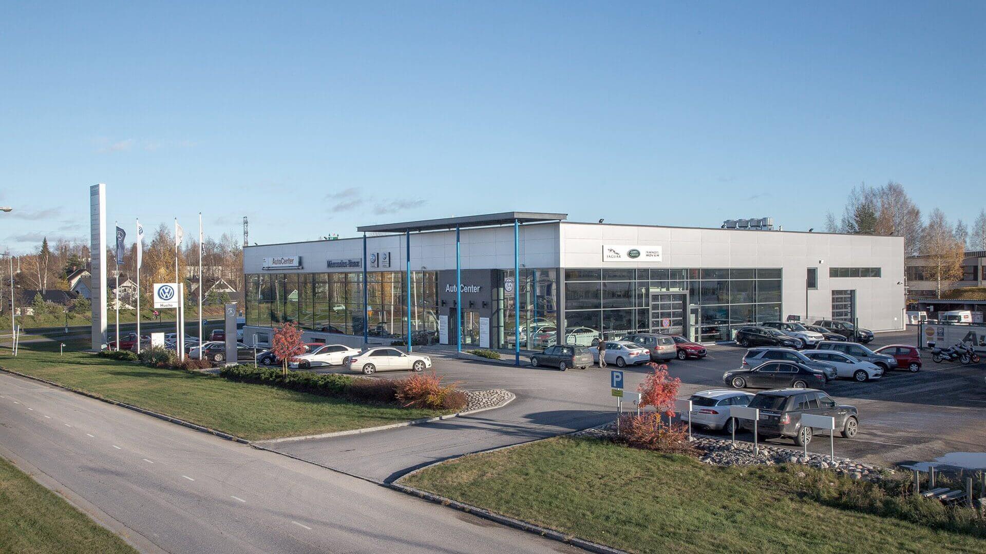 Tampereen AutoCenter liiketilat